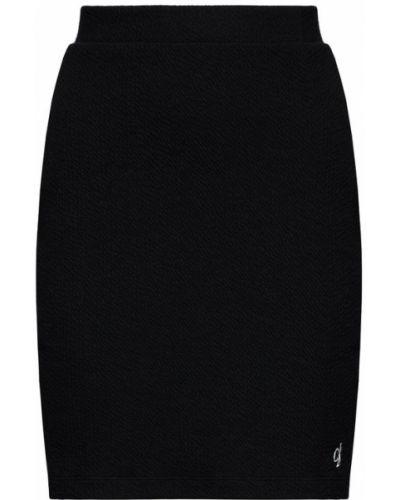 Czarna spódnica ołówkowa Calvin Klein Jeans