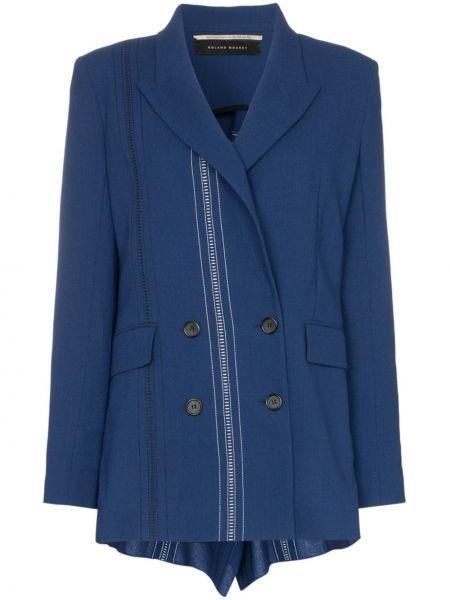 Синий пиджак Roland Mouret