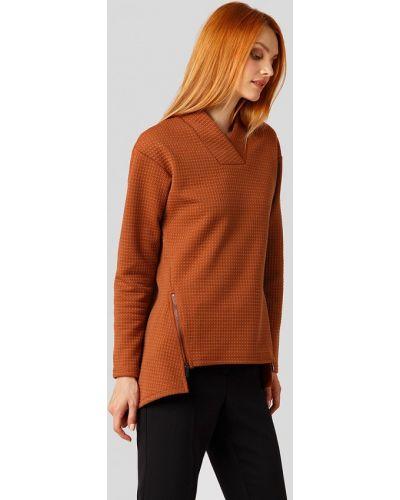 Коричневый пуловер Finn Flare