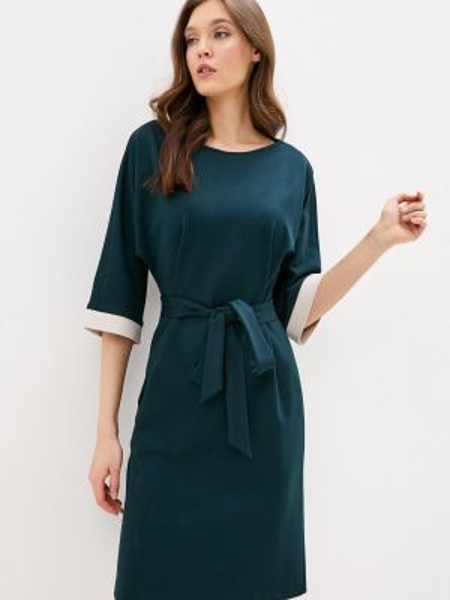Платье осеннее прямое Samos Fashion Group