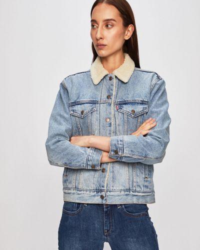 Джинсовая куртка укороченная с карманами Levi's®