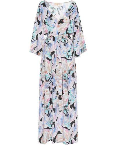 Платье макси коктейльное из вискозы Melissa Odabash