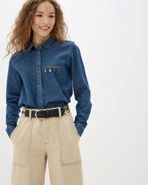 Джинсовая рубашка - синяя Jimmy Sanders