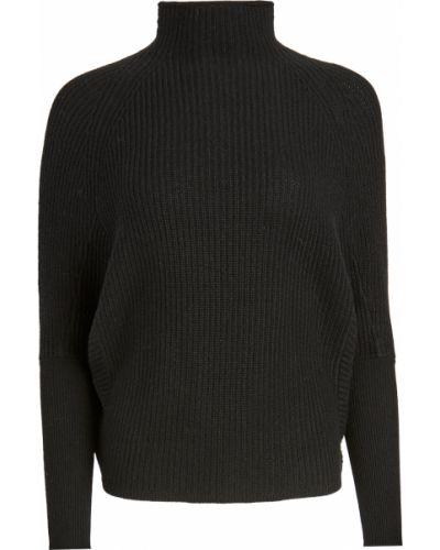 Клубный кашемировый черный длинный свитер Club Monaco