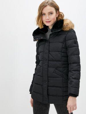 Утепленная черная куртка Zabaione