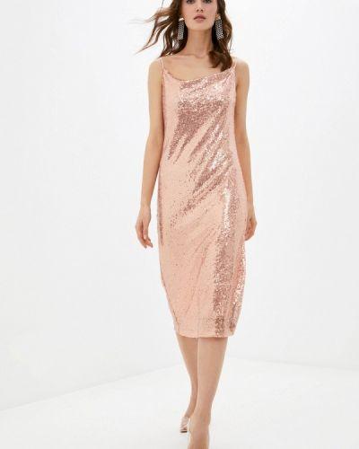 Розовое вечернее платье Imocean
