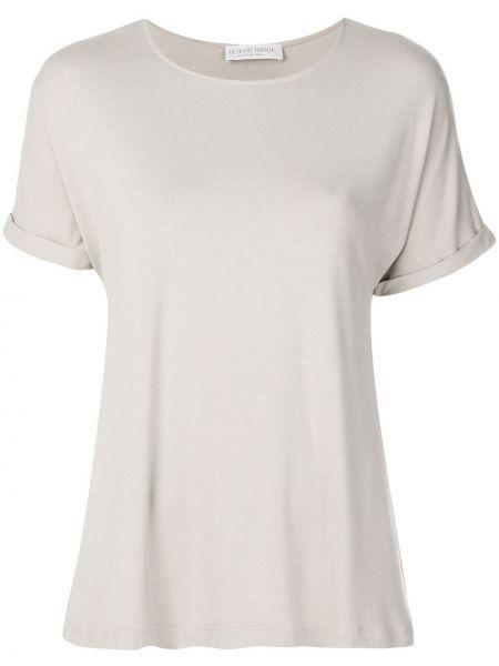 Базовая футболка - бежевая Le Tricot Perugia