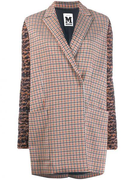 Длинное пальто с капюшоном M Missoni