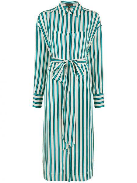 Платье миди на пуговицах платье-рубашка Escada