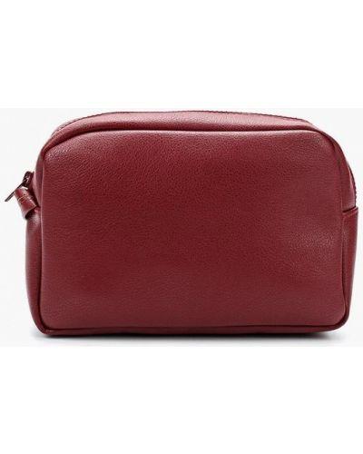 Кожаная сумка - бордовая Kawaii Factory