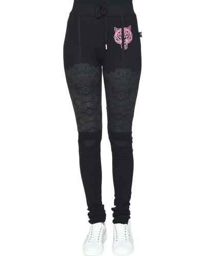Черные брюки Plein Sport