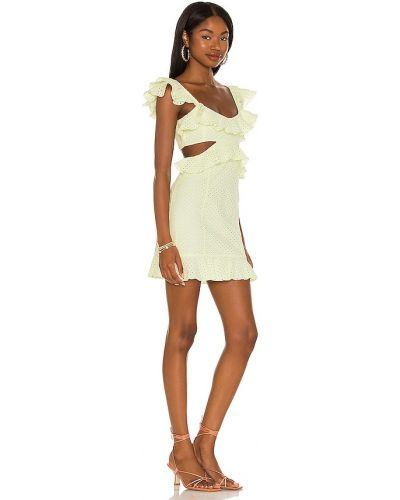 Sukienka mini elegancka Majorelle