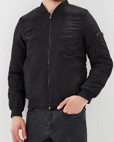 Черная утепленная куртка Mezaguz