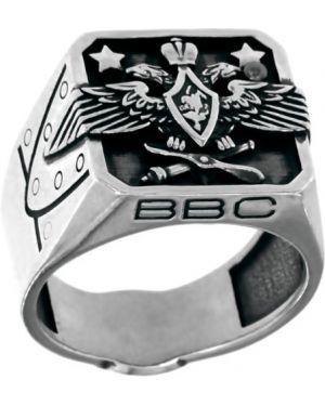 Кольцо серебряный с декоративной отделкой Pokrovsky