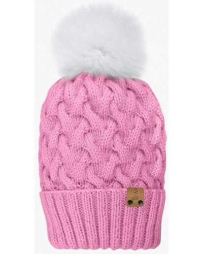 Розовая шапка Anmerino