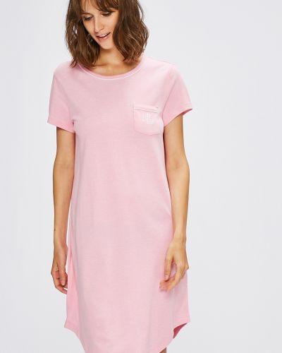Рубашка с коротким рукавом с карманами свободного кроя Lauren Ralph Lauren