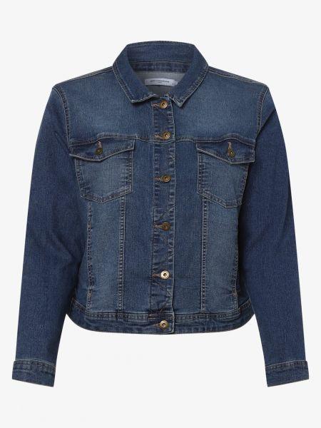 Klasyczna niebieska kurtka jeansowa Only Carmakoma