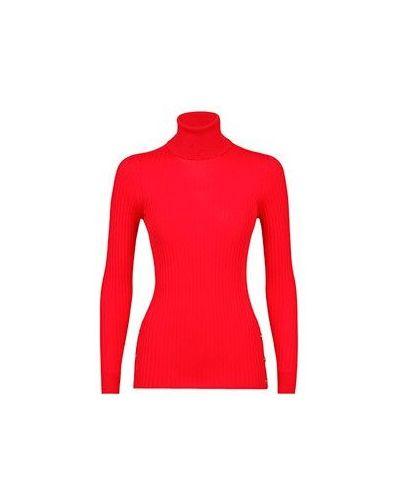 Водолазка черная красная Versace