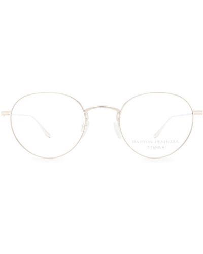 Białe okulary Barton Perreira