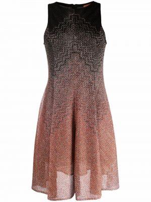 Шелковое платье - оранжевое Missoni