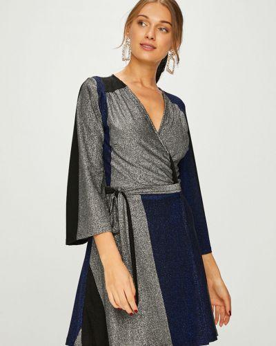 Платье мини трикотажное расклешенное Answear
