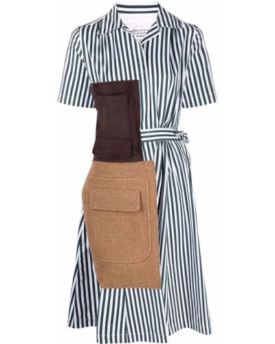 Платье мини короткое - зеленое Maison Margiela