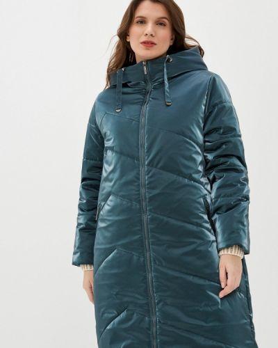 Зеленая утепленная куртка Dizzyway