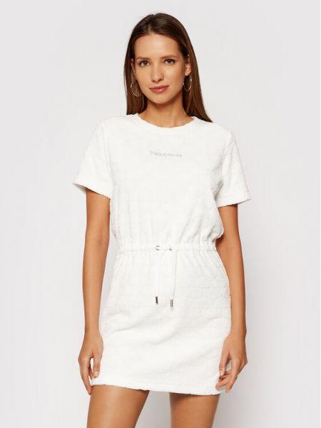 Biała sukienka casual Juicy Couture