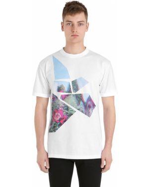 Biały t-shirt bawełniany Esprit D'equipe Milan