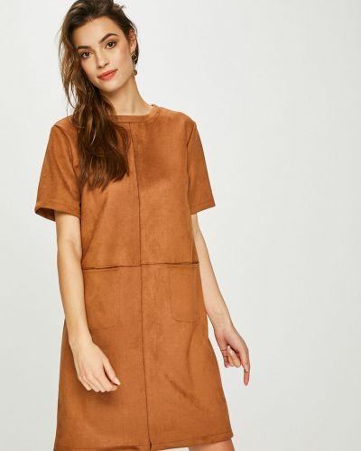 Платье прямое с вырезом Answear