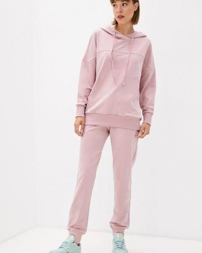 Розовый спортивный костюм осенний Ko'msi