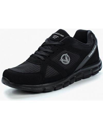 Черные кроссовки из нубука Timejump
