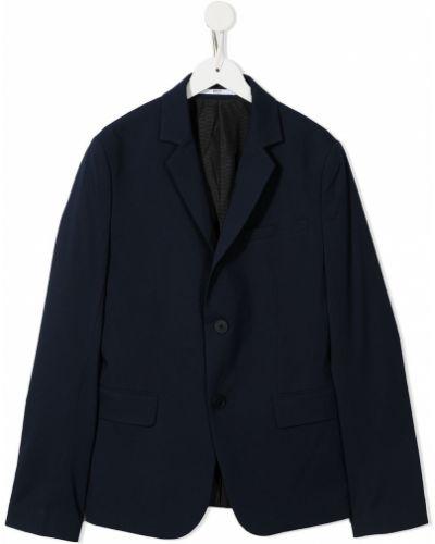 Czarny garnitur z długimi rękawami Boss Kidswear