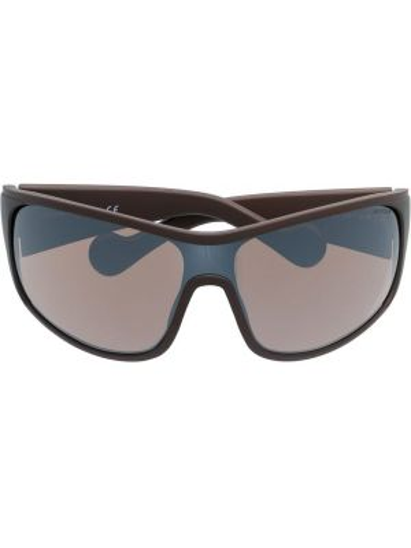 Прямые муслиновые солнцезащитные очки Moncler Eyewear