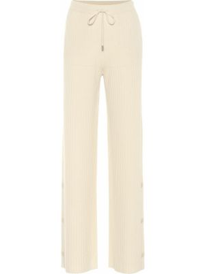 Кашемировые брюки - желтые Loro Piana