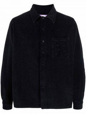 Czarna koszula z długimi rękawami Erl