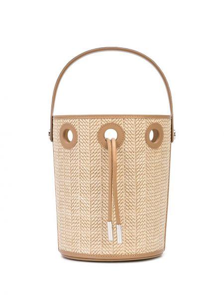 Парусиновая сумка с завязками с подкладкой Perrin Paris