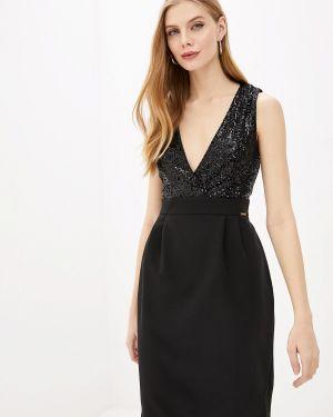 Черное вечернее платье Pdk