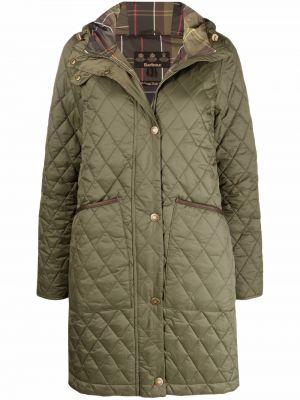 Стеганое пальто - зеленое Barbour