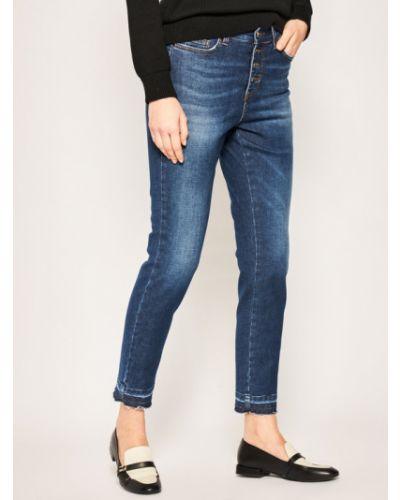 Fioletowe mom jeans Iblues