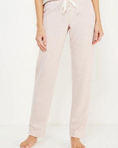 Розовые брюки домашние Gap