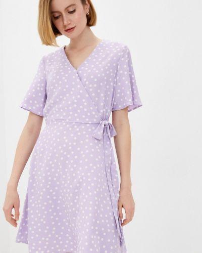 Повседневное фиолетовое платье Zarina
