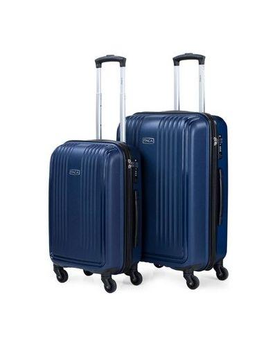 Niebieski walizka Itaca