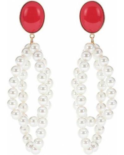 Kolczyki pierścionki z perłami kolczyki ze sztyftem Magda Butrym