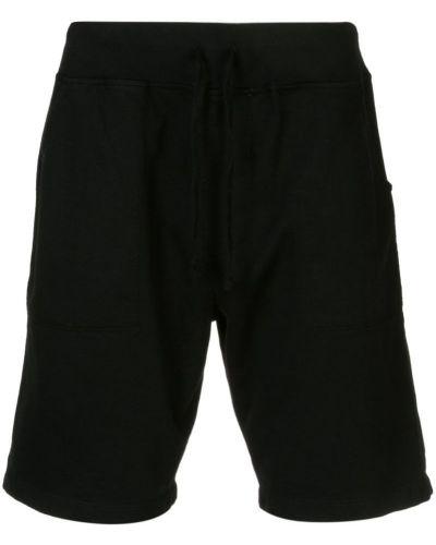 Спортивные шорты с карманами черные Save Khaki United