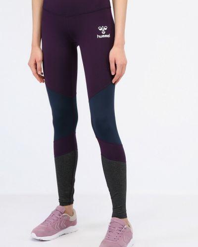Фиолетовые тайтсы Hummel