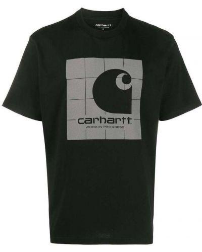 Czarna podkoszulka krótki rękaw bawełniana Carhartt Wip