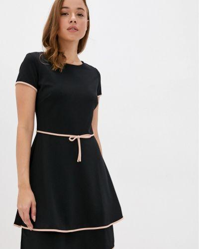 Черное прямое платье Rinascimento
