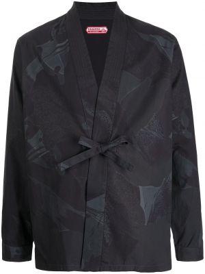 Czarne kimono Maharishi