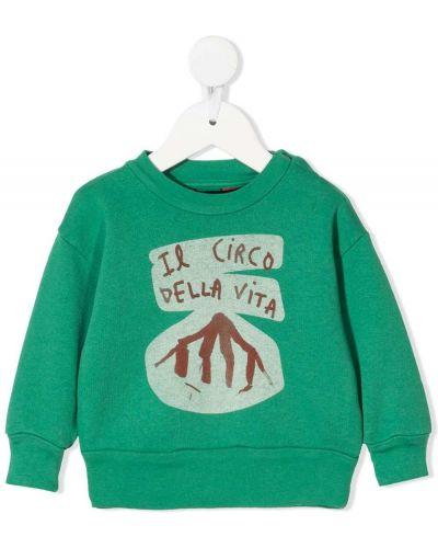 Zielona bluza z długimi rękawami bawełniana The Animals Observatory
